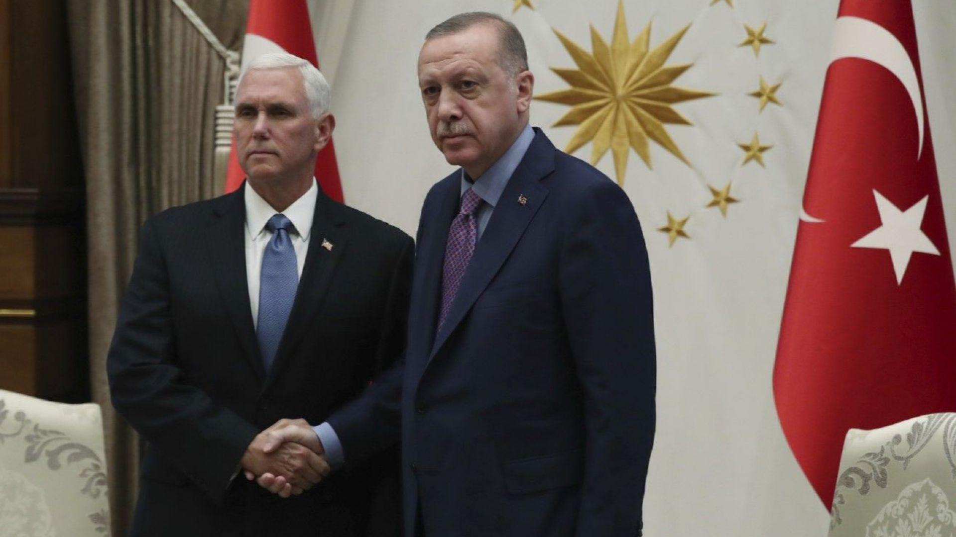 Турски медии информират, че срещата между турския президент Реджеп Тайип