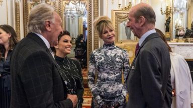 Ева Лонгория и Мелани Грифит се срещнаха с принц Едуард
