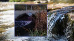 Река Потока посиня от отпадни води на винарска изба