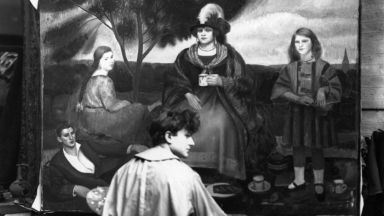 Един от най-добрите портретисти на 20 век се самоубива от чувство за малоценност
