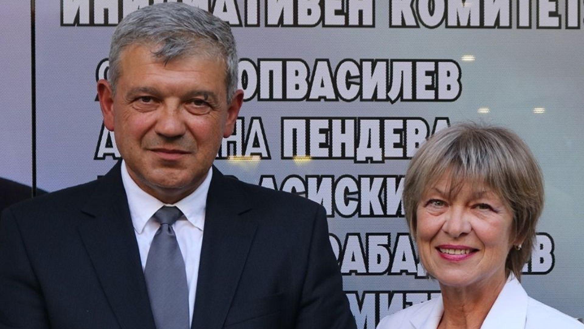 Румен Томов, независим кандидат за кмет, подкрепен от БСП
