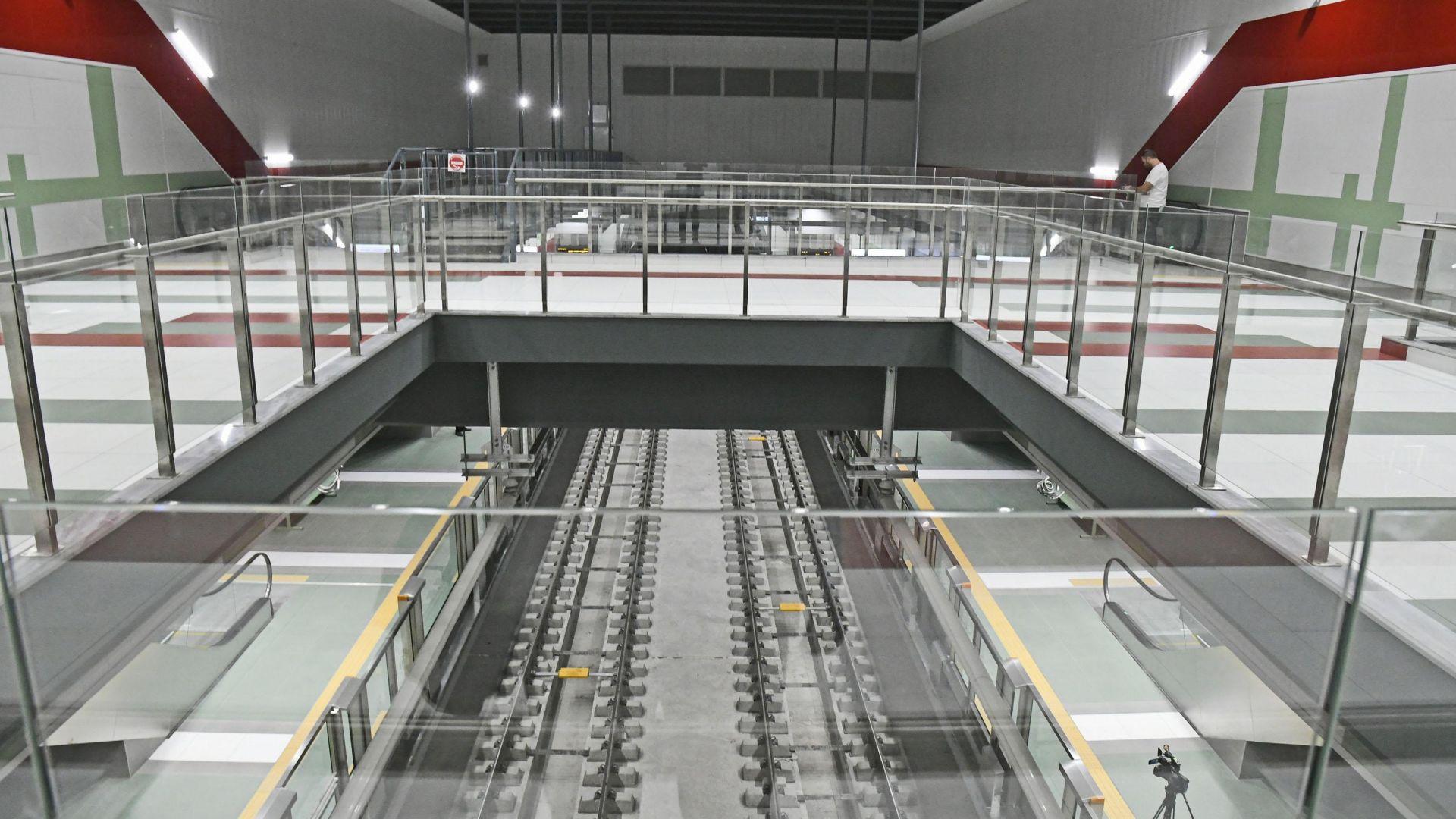 Предстои нова инспекция на метрото другата седмица, съобщи директорът на