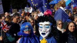 Десетки хиляди протестират  в Лондон  срещу Брекзит
