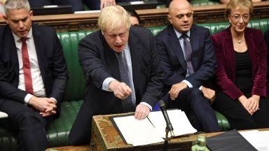 Британските депутати ще гласуват в понеделник дали да одобрят сделката за Брекзит