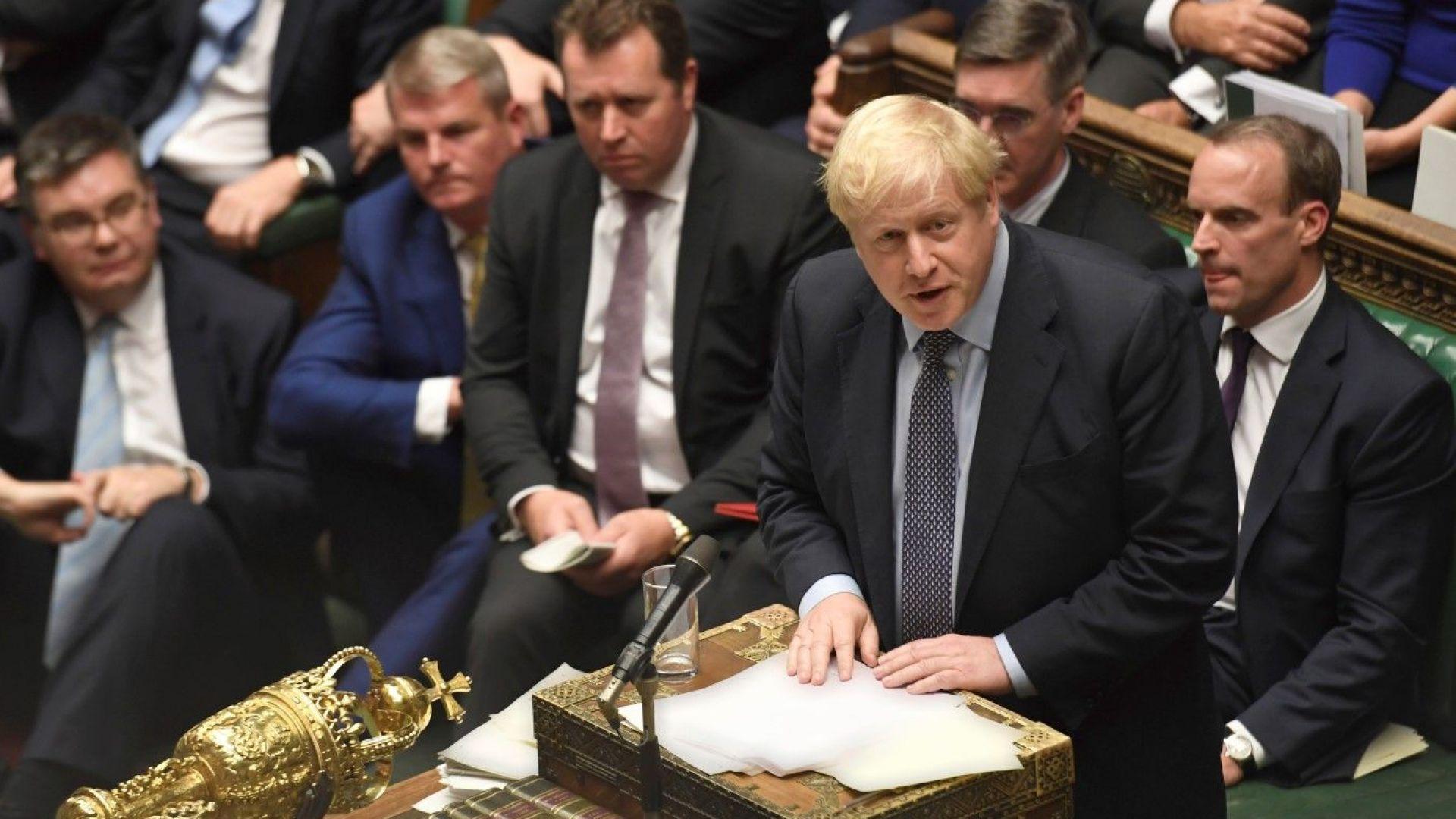 Британският премиер Борис Джонсън бе обвинен, че ползва