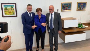 Горанов обсъди с Кристалина Георгиева глобалното икономическо развитие