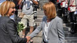 """Манолова свърза """"Орлетата на Борисов"""" с властта в София, Фандъкова я призова да изясни отношенията си с премиера"""