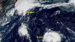 Супертайфунът-рекордьор  Суригае застрашава Филипините (видео)