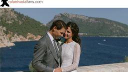 Излязоха първи снимки от сватбата на Рафа Надал