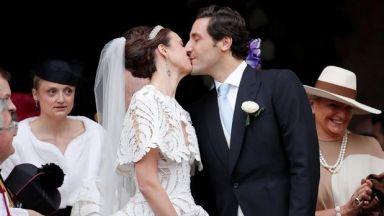 Наследник на Наполеон се ожени на приказна церемония в Париж