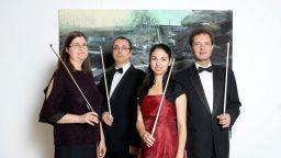 Квартет Филхармоника с гастрол в Москва за Деня на будителите