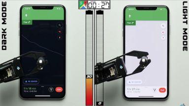 Щади ли тъмния режим батерията на новия iPhone