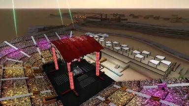 Започнаха да строят стадиона за Руис - Джошуа II едва 51 дни преди Боя в пустинята