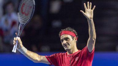 Федерер размаза съперник в мач №1500
