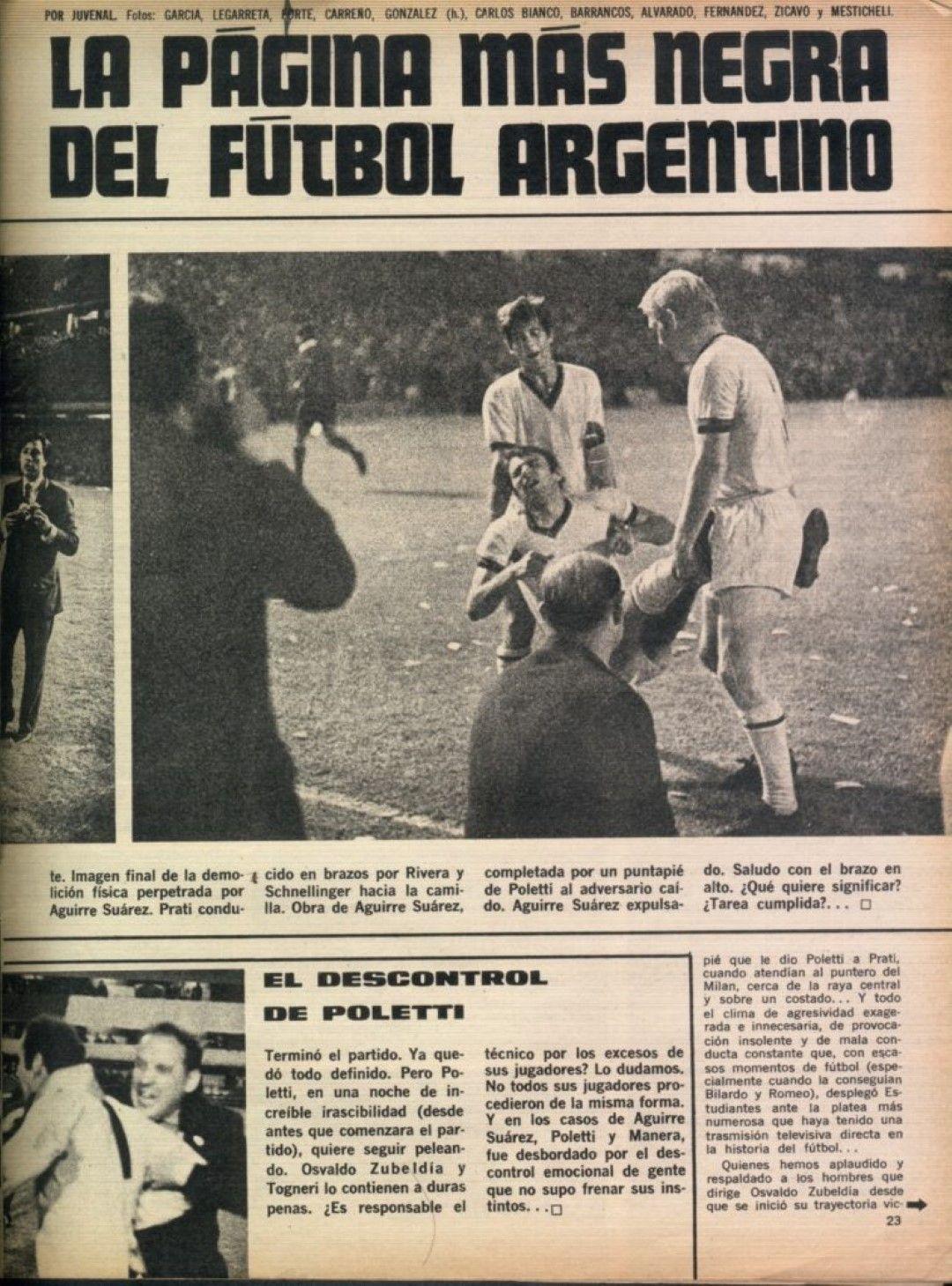 Вестниците в Аржентина са безпощадни към своите