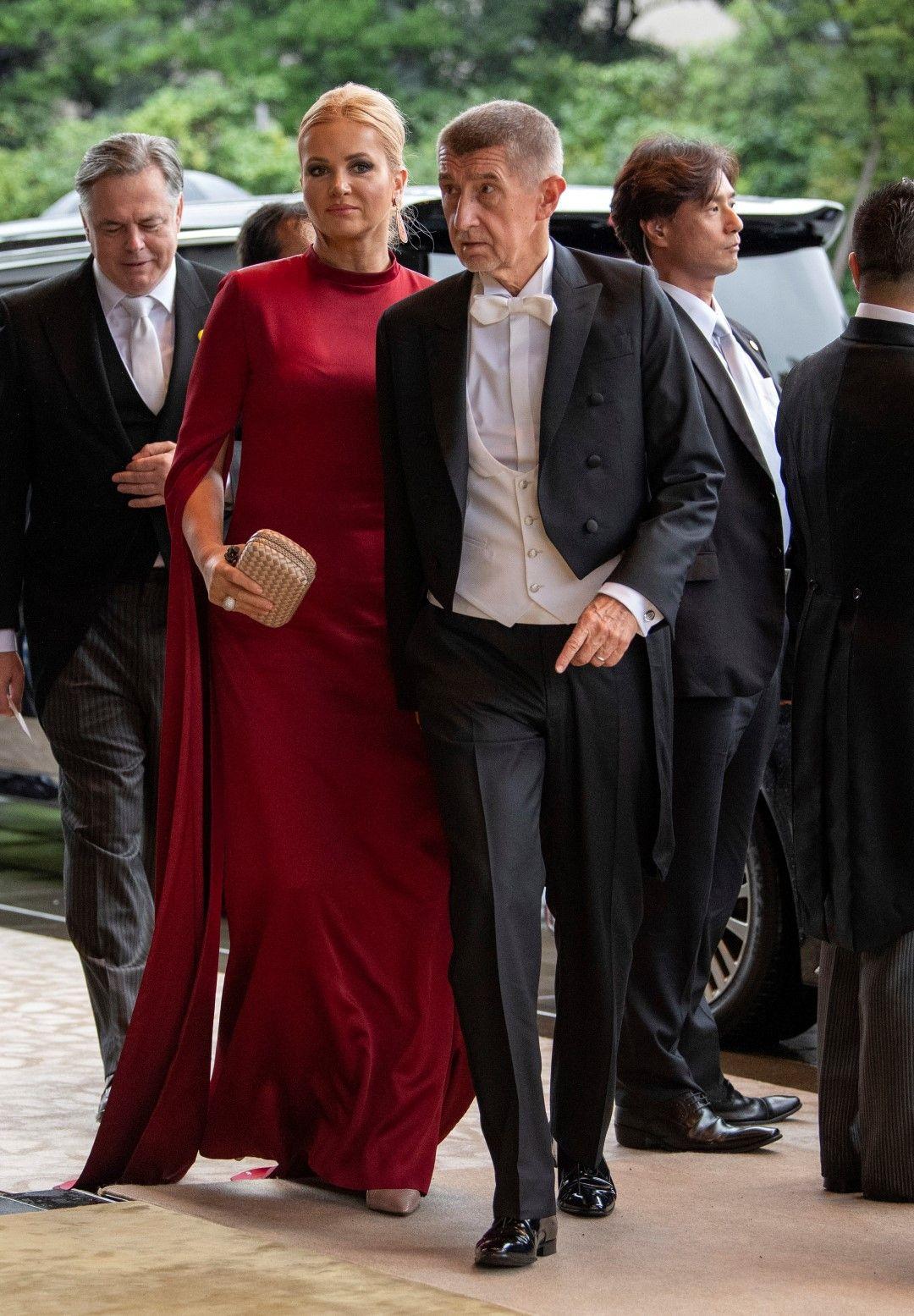 Чешкият министър-председател Андрей Бабиш и съпругата му Моника