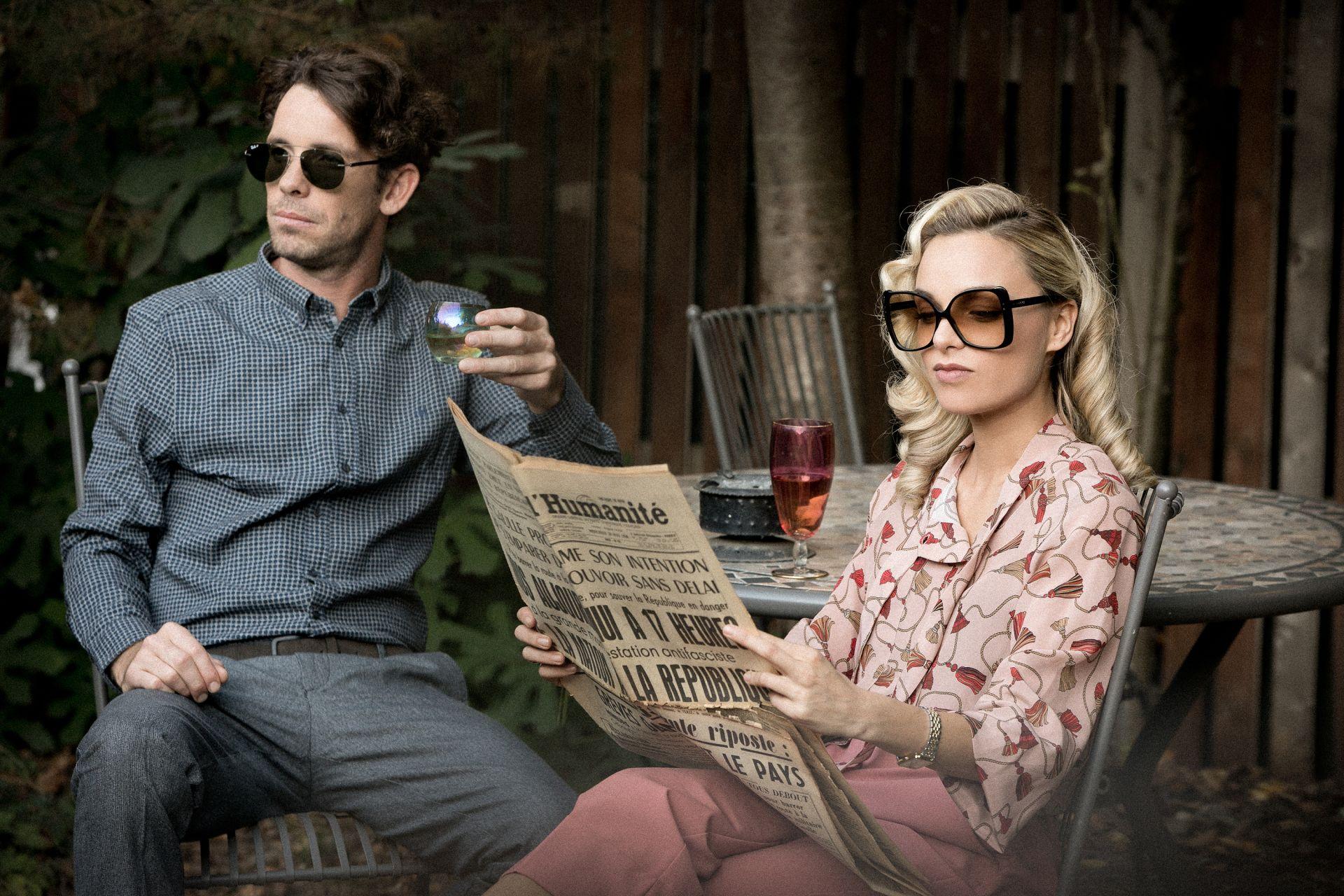 Слънчеви очила Рая: Gucci от Grand Optics // Явор слънчеви очила Ray-Ban от Grand Optics