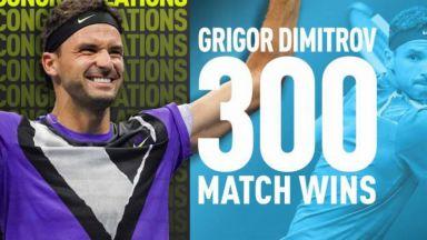 От ATP поздравиха Григор Димитров със страхотно видео