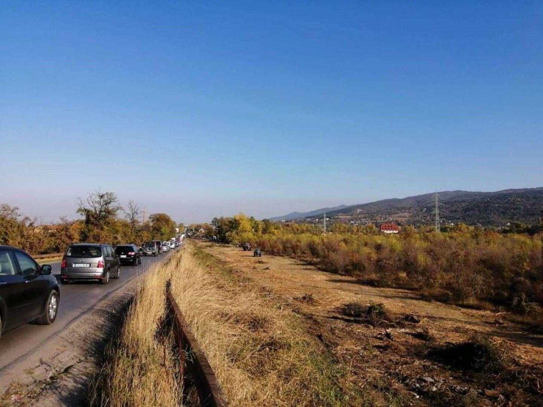 """Околовръстното шосе на София от АМ """"Тракия"""" до квартал """"Младост"""" сега"""