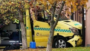 Стреляха по въоръжен мъж в Норвегия, откраднал линейка и блъснал няколко души