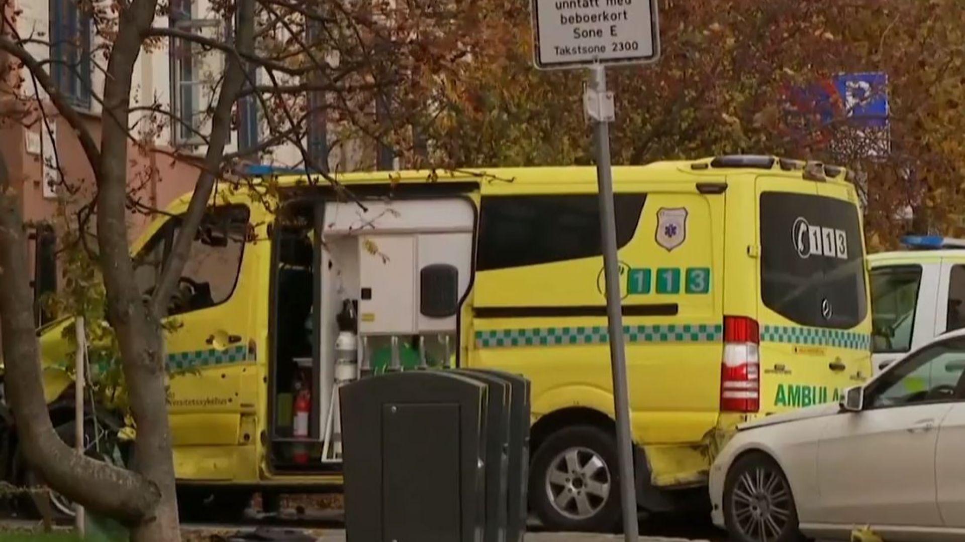 Норвежката полиция заяви, че е арестувала въоръжен мъж и жена