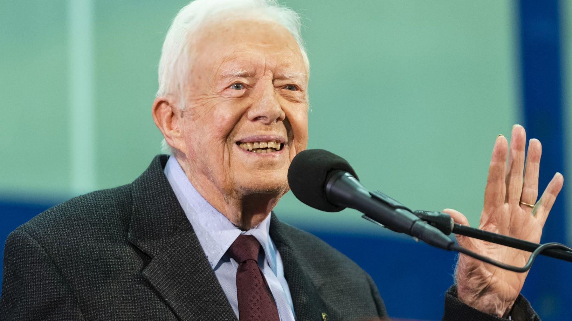 Бившият президент на САЩ Джими Картър е в болница