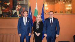 Кирил Домусчиев и президентът на Конфиндустрия дадоха нов тласък на българо-италианските бизнес проекти