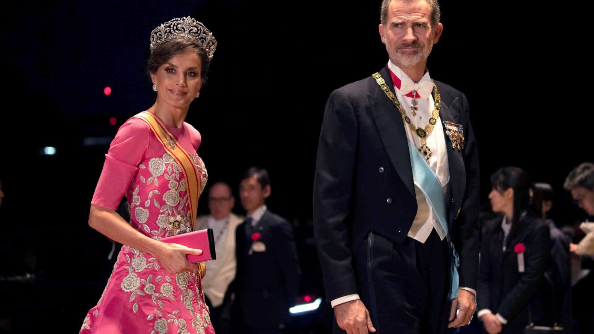 Кралица Летисия и крал Фелипе VI