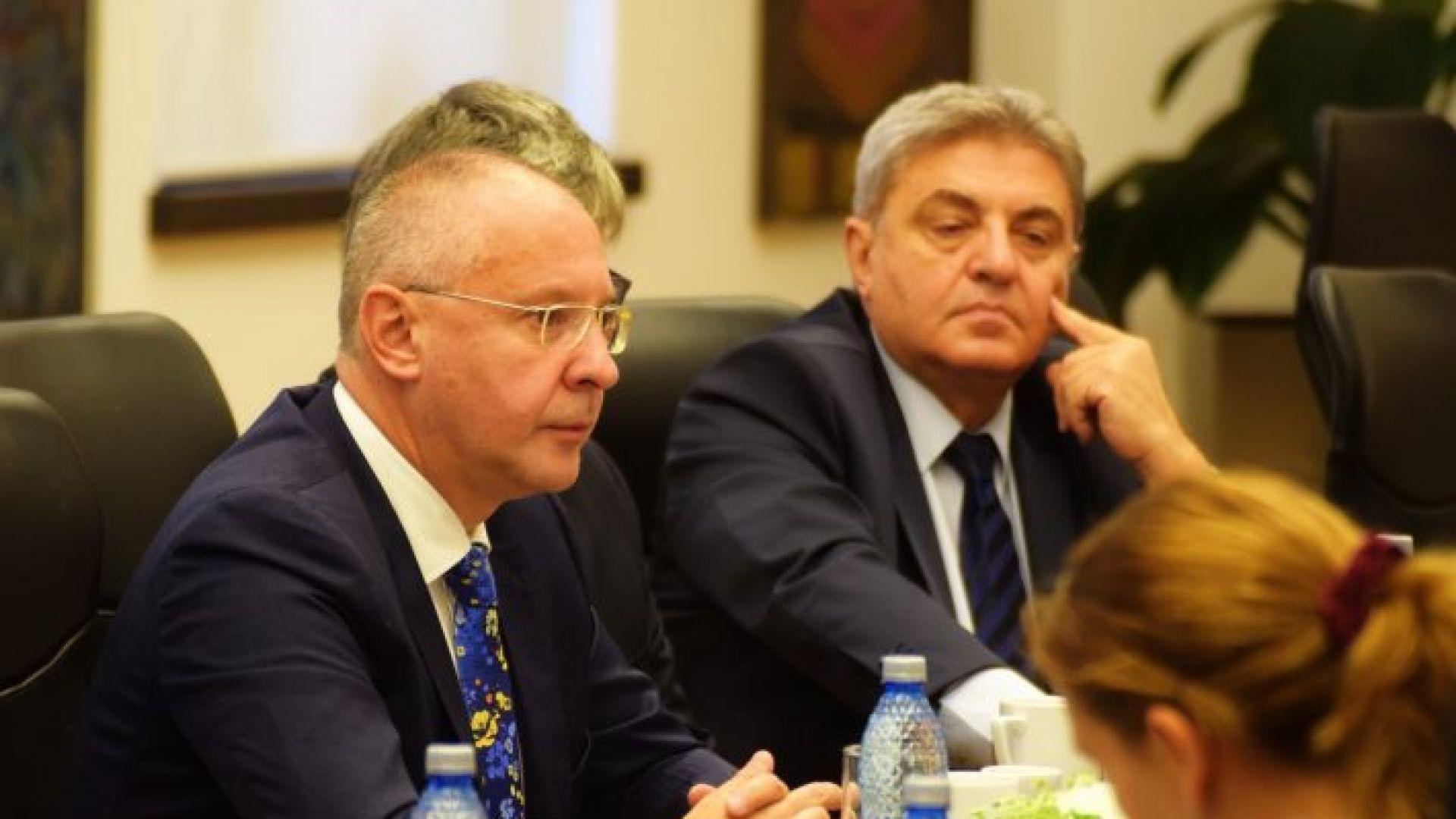 Личната си подкрепа за Венцислав Венков даде и лидерът на ПЕС Сергей Станишев.  Венков участва в партиен форум за бъдещето на Западните Балкани в Букурещ