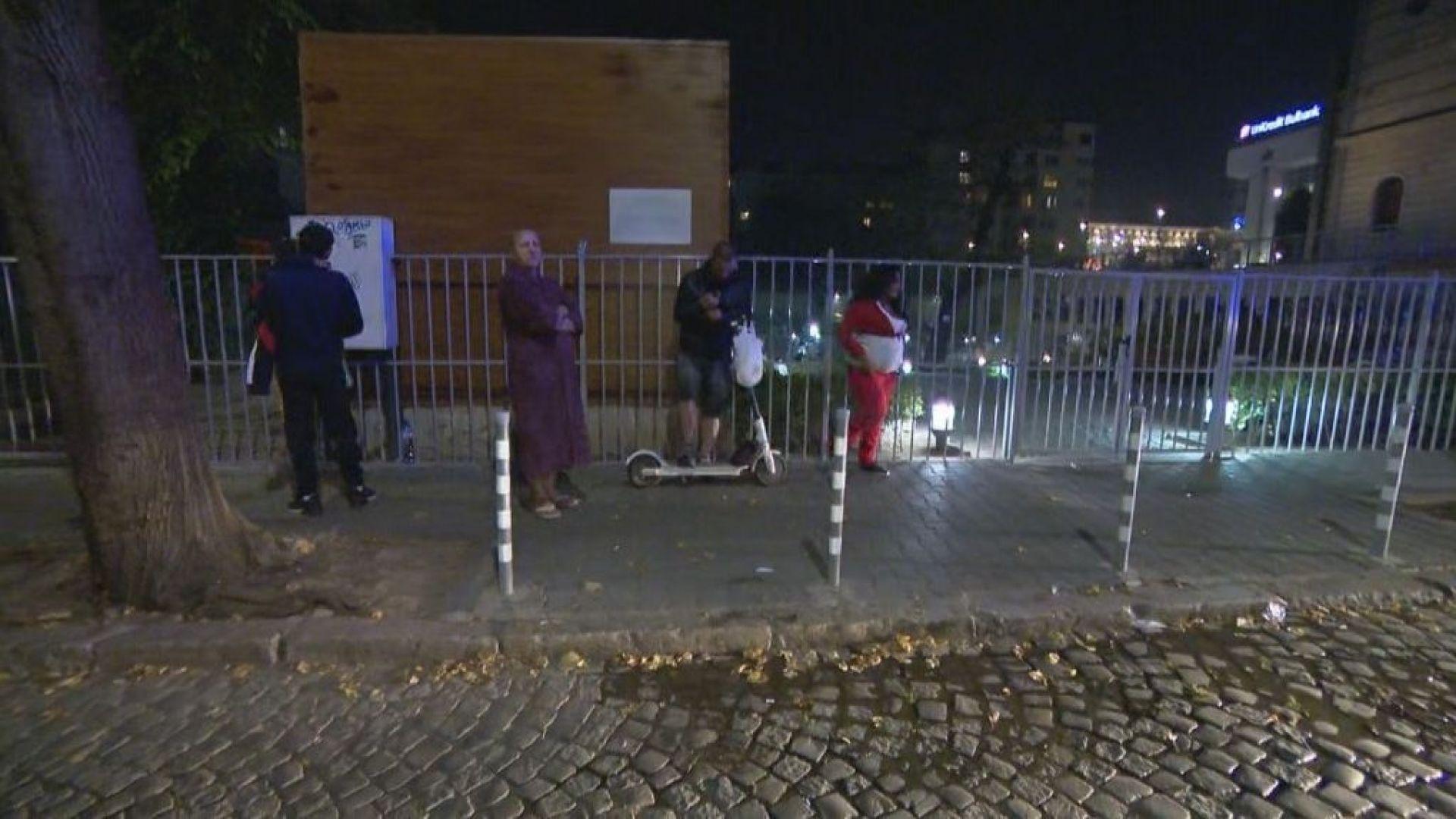 Пожар горя в хостел в центъра на София. По информация