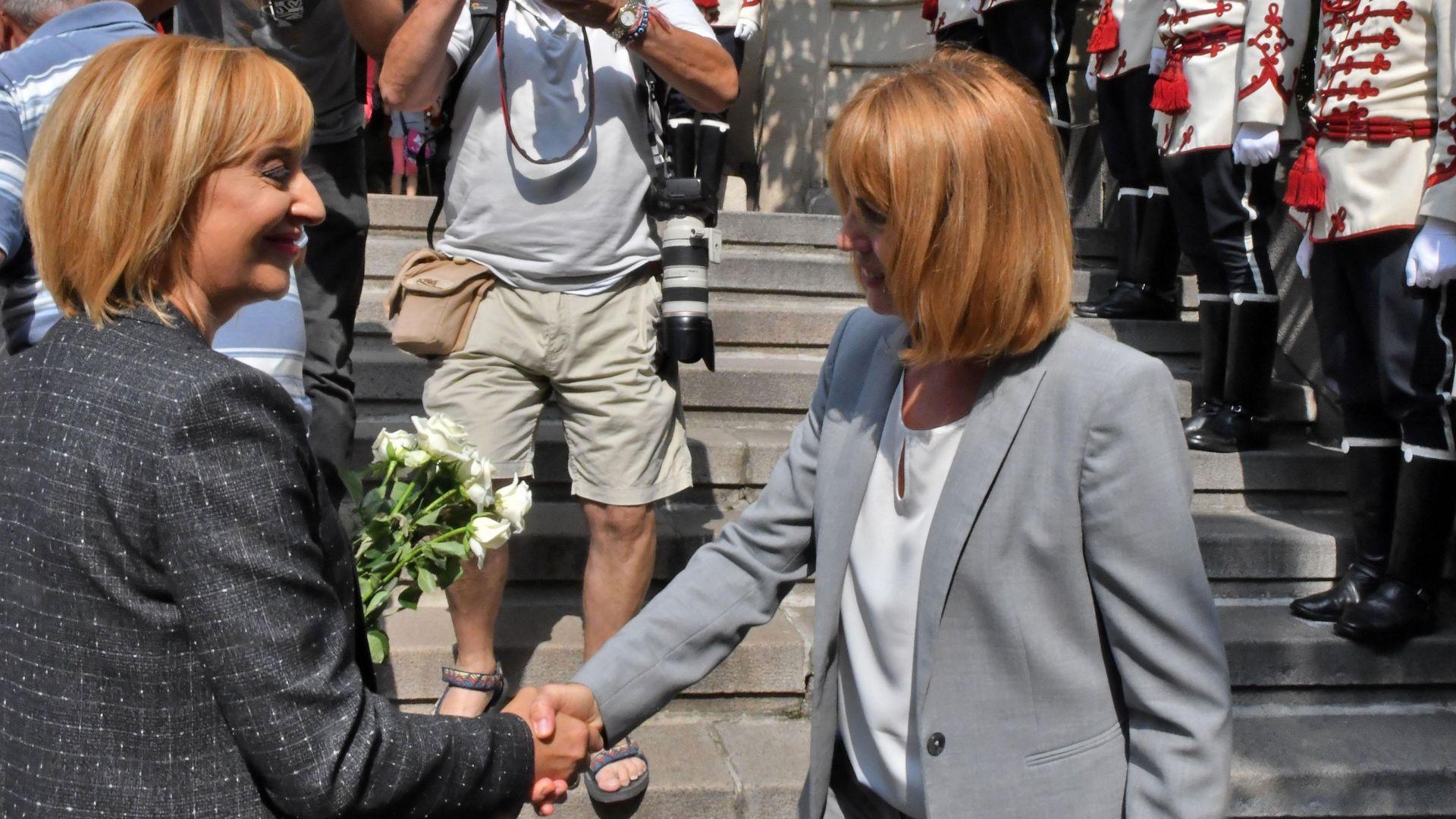 Сегашният кмет Йорданка Фандъкова е с преднина с около девет