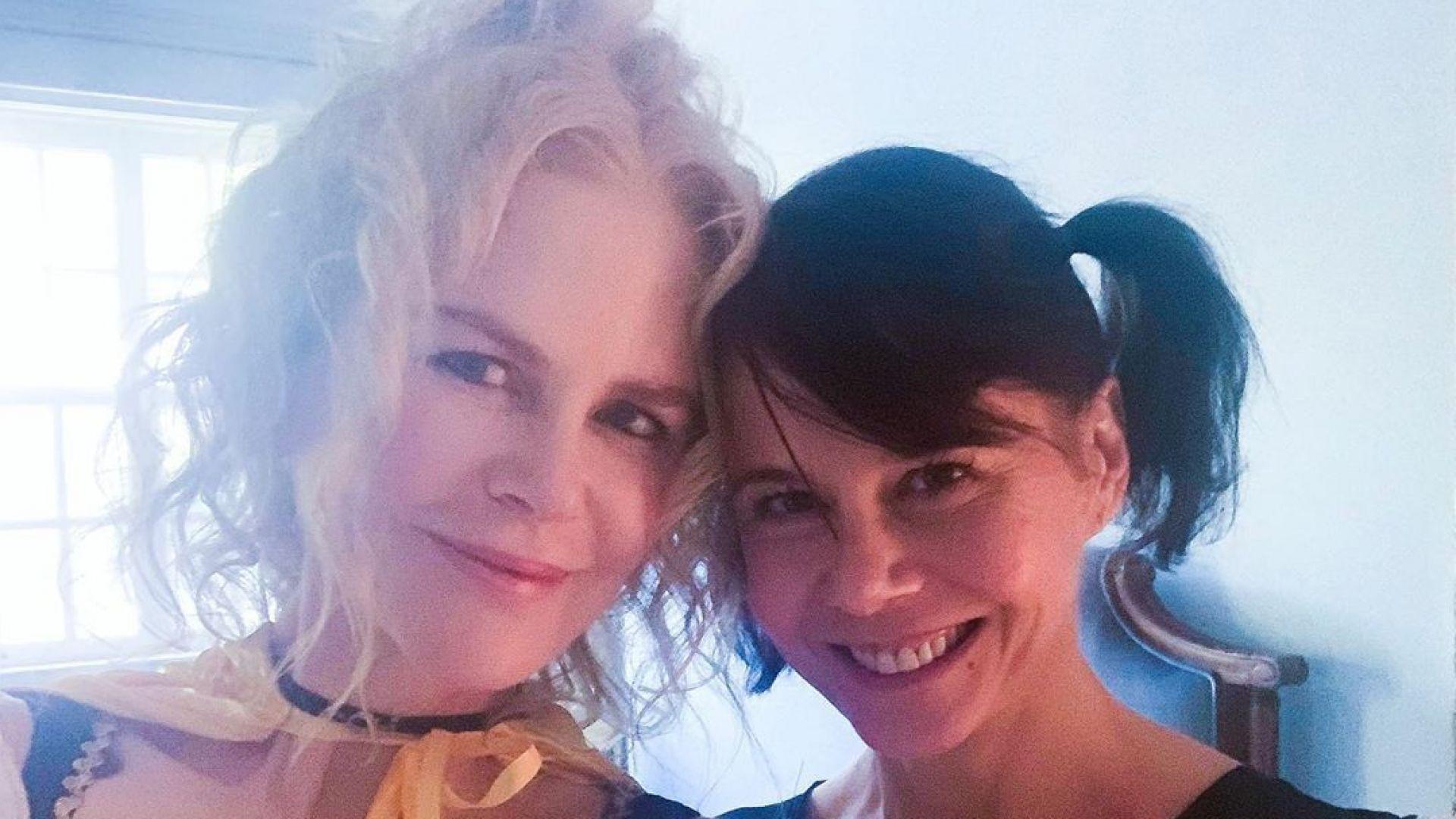 Никол Кидман и сестра ѝ - като две капки вода