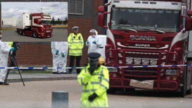 Десетки арестувани след разследването за камиона-ковчег във Великобритания