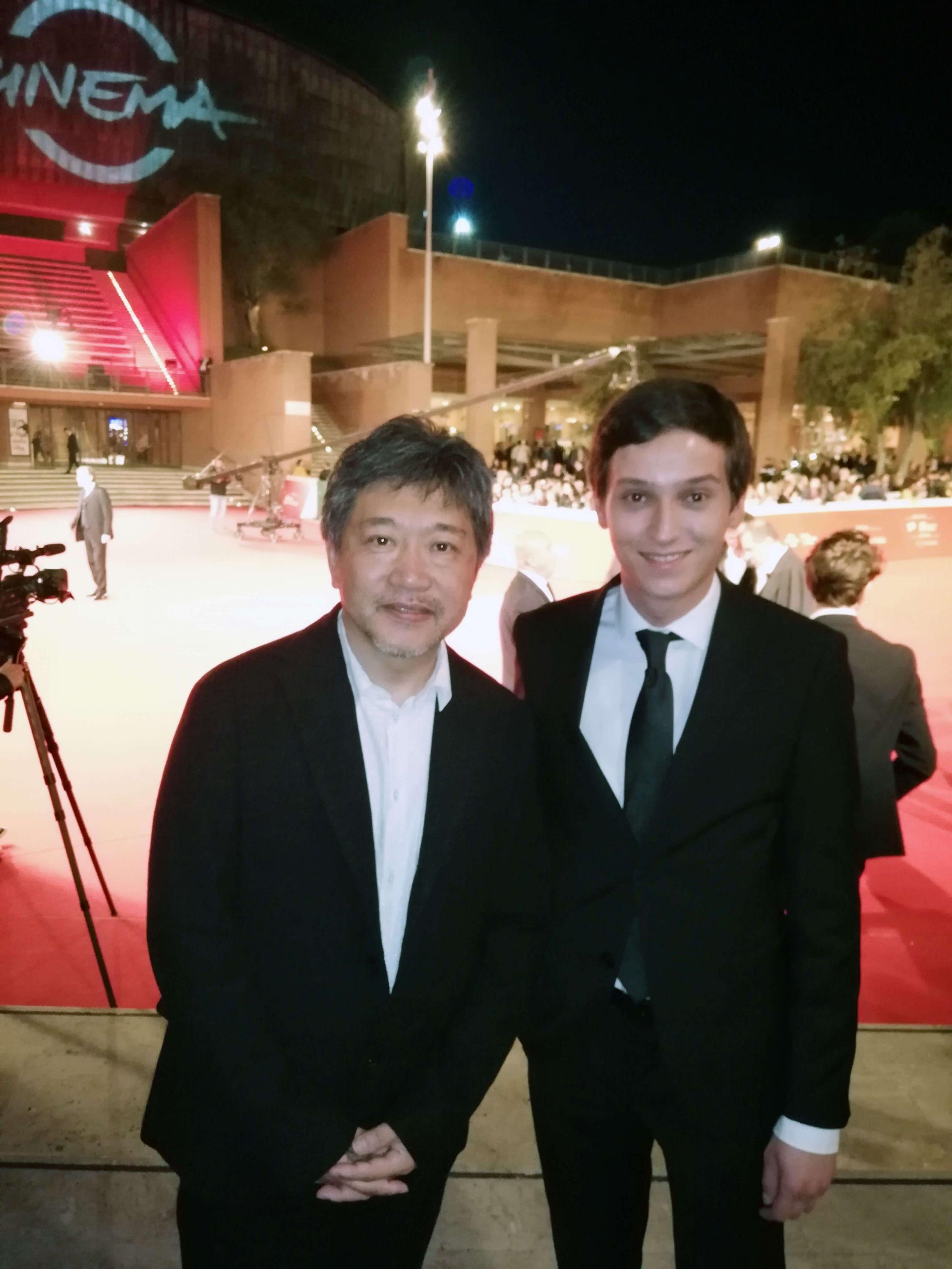 Димитър Николов с японския режисьор Хироказу Коре- Еда