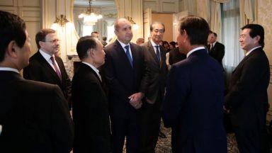 Радев се срещна с японски бизнесмени: България може да разшири износа на качествени стоки