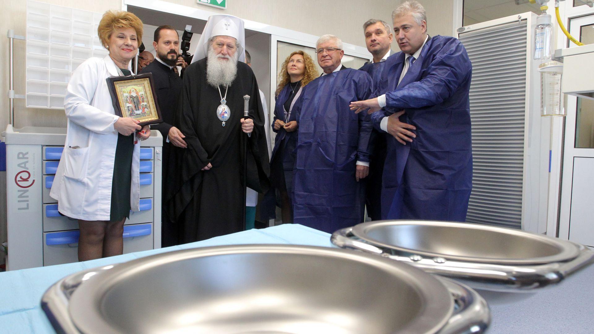 """Клиниката по изгаряния в """"Пирогов"""" е изцяло обновена след 43 г. (снимки)"""