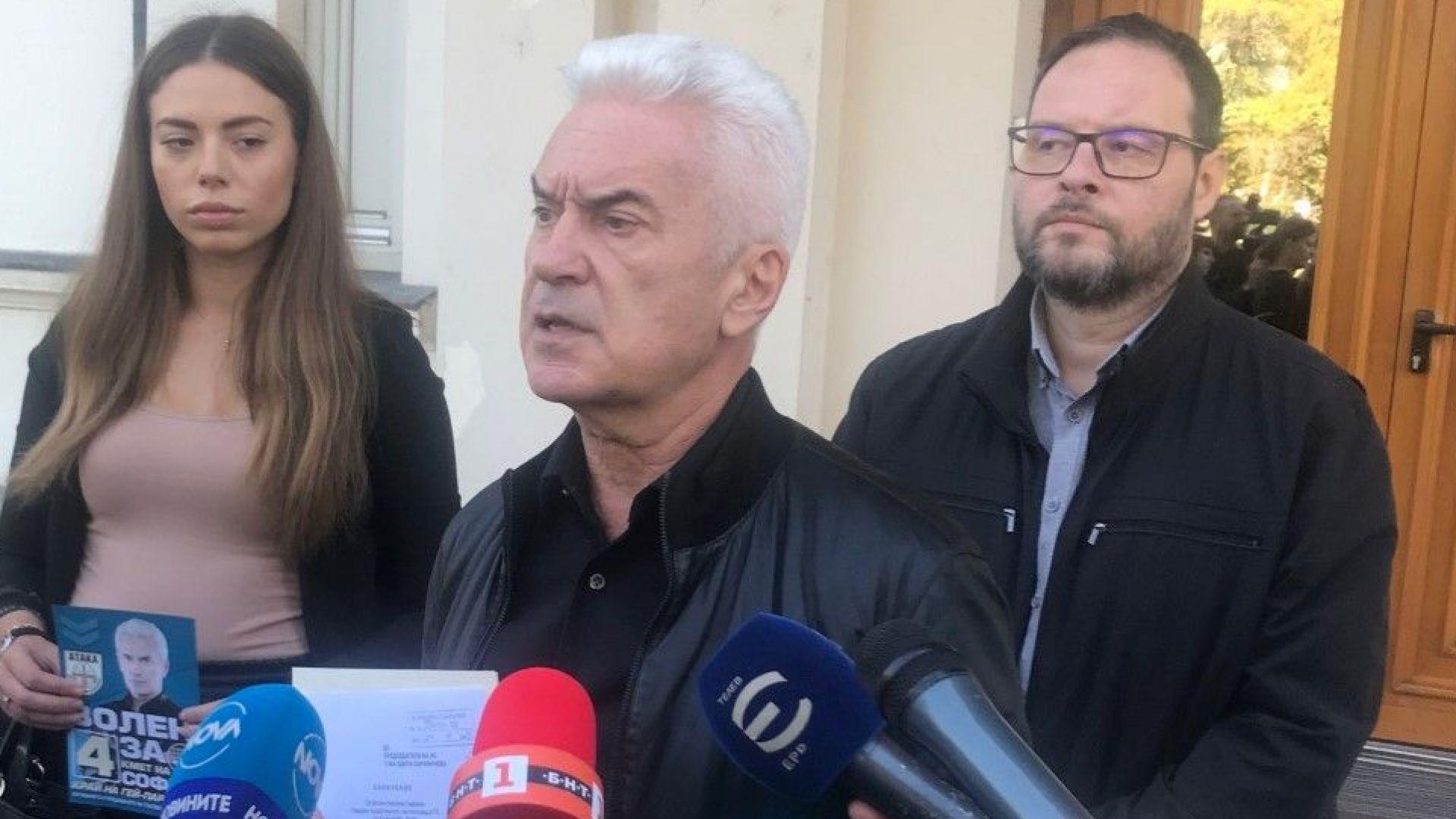 Сидеров депозира оставката си в НС, чака Джамбазки да направи същото в ЕП