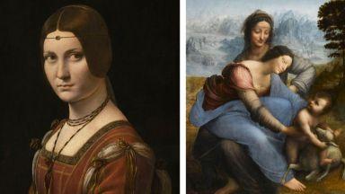 Лувърът откри най-голямата изложба, посветена на Леонардо (снимки)