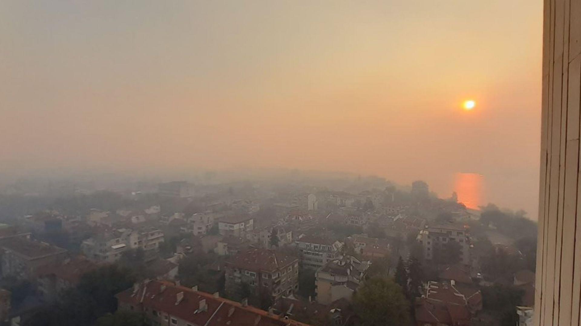 Спряха замърсяването в Русе заради запалените стърнища в Румъния
