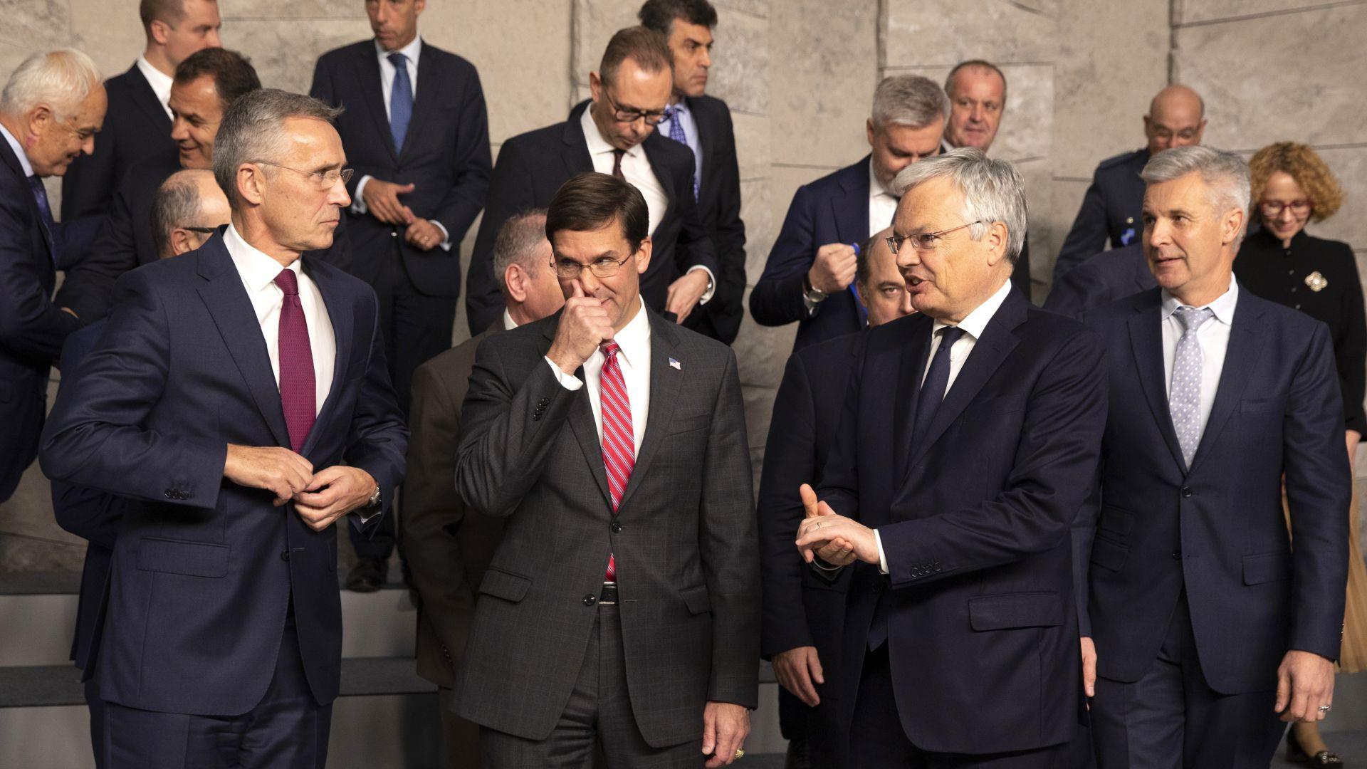 НАТО: Силите на място в Сирия носят отговорност затворниците да не избягат