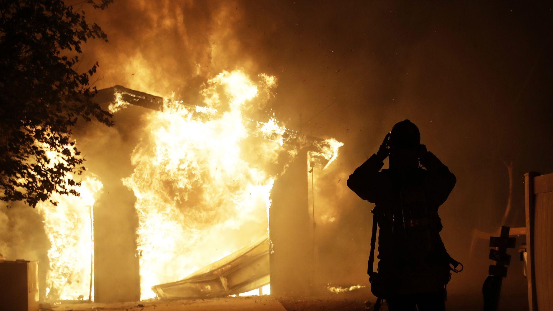 Извънредно положение в 10 области в Русия заради горски пожари (видео)