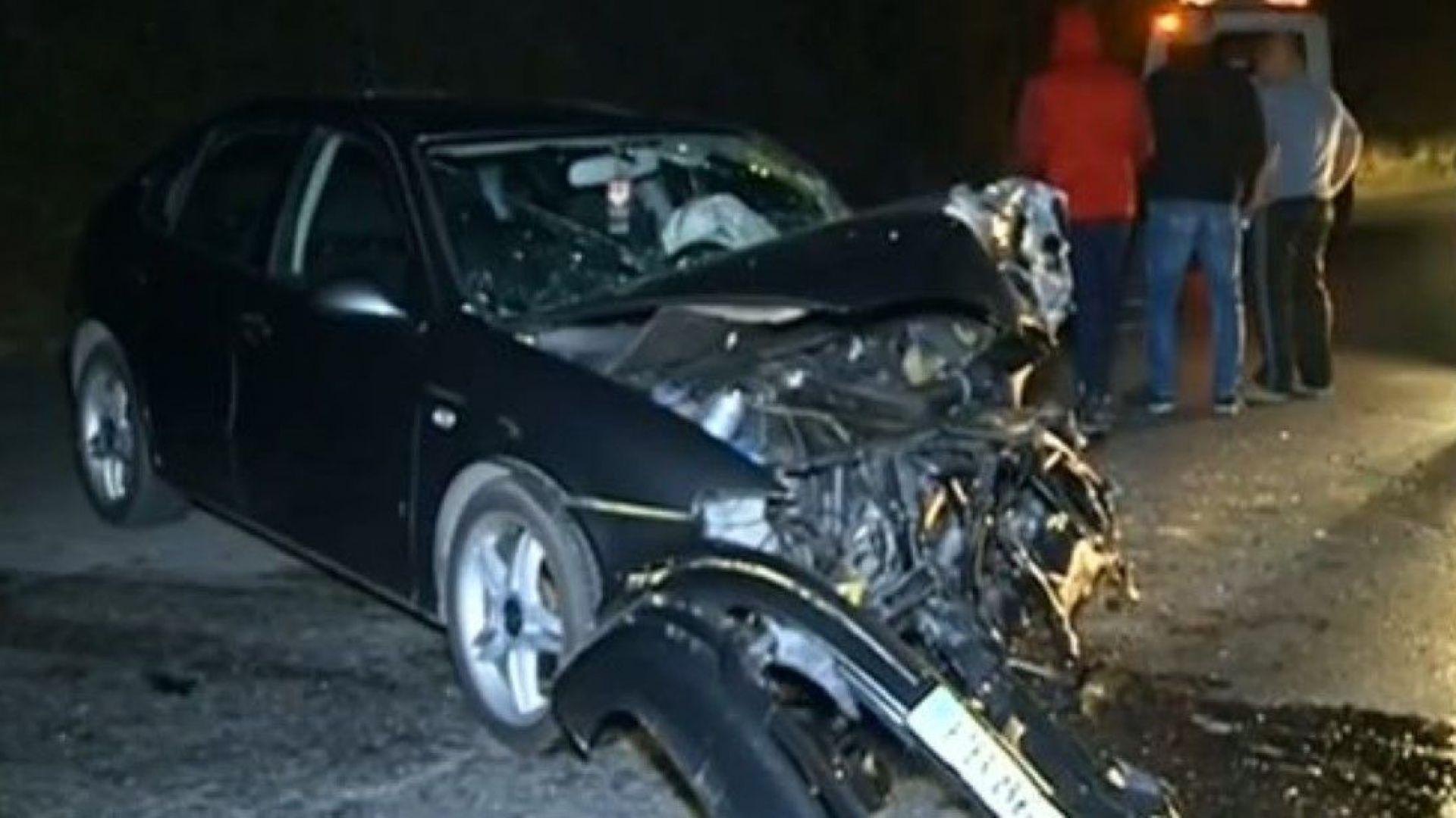 Възрастен шофьор уби пешеходец в Пловдив, челен удар затвори за часове пътя за Пазарджик
