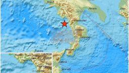 Земетресение 4,4 по Рихтер вся паника в Южна Италия