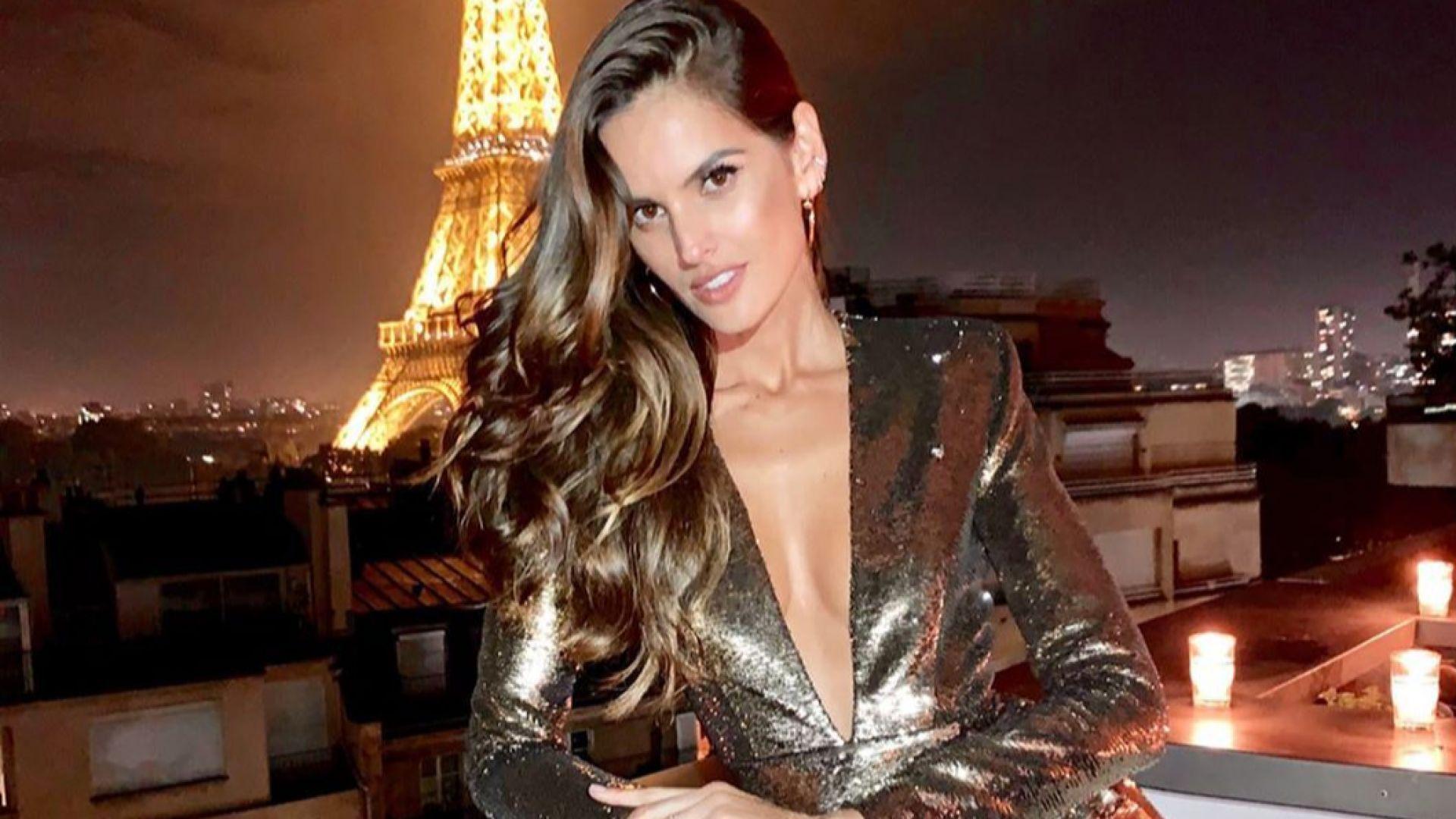Изабел Гулар блести в Париж с огнен сексапил