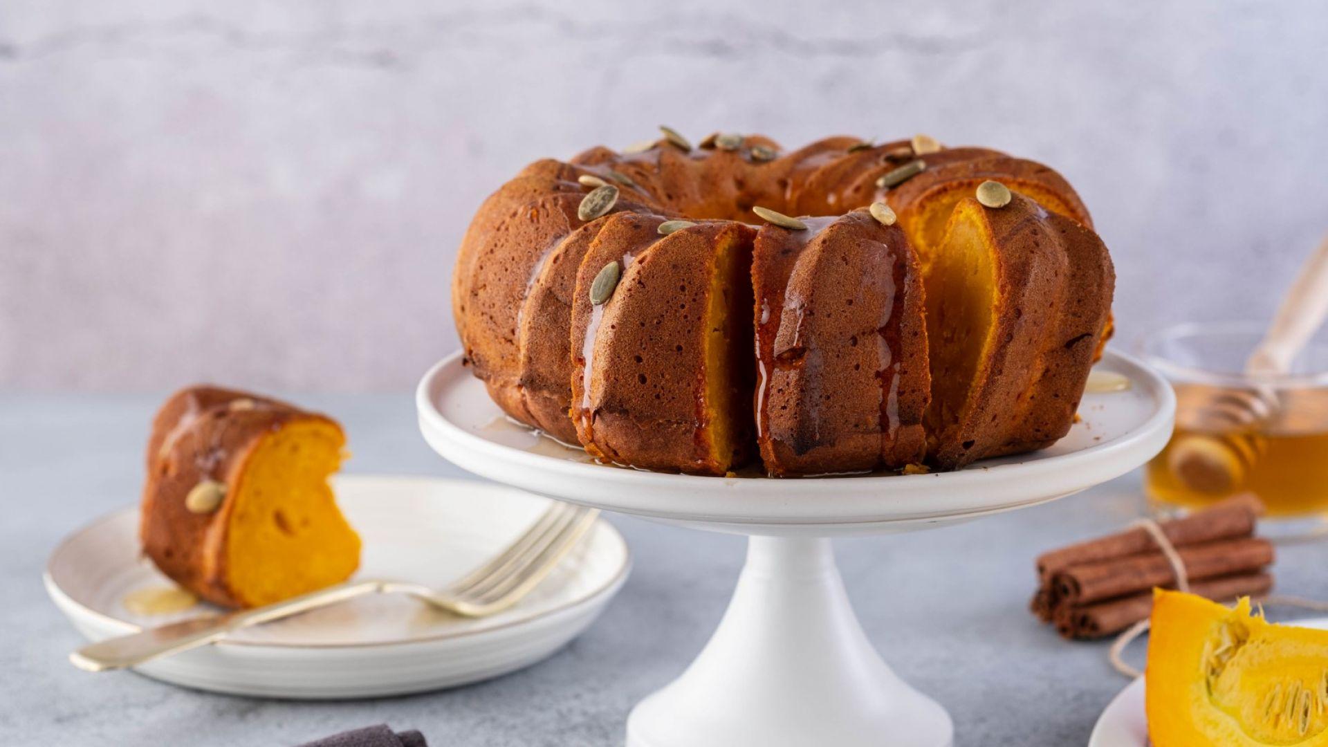 Да си направим вкусен и полезен есенен тиквен кекс