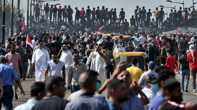 Най-малко шестима убити на протестите в Ирак