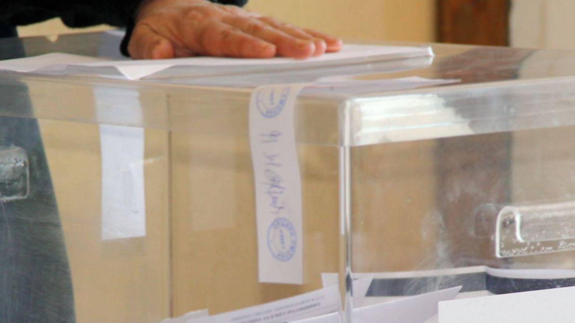 Подгласничка стоя повече от час пред изборните секции