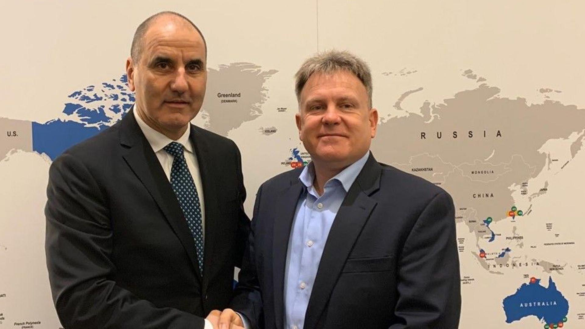 Цветан Цветанов се срещна с представители на Интерпол