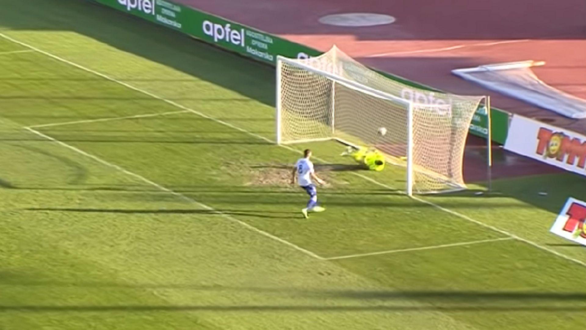 Уникален куриозен момент в хърватското футболно първенство