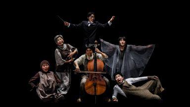 """Японският театър """"Ашибуе"""" представя част от спектакъл на български език"""